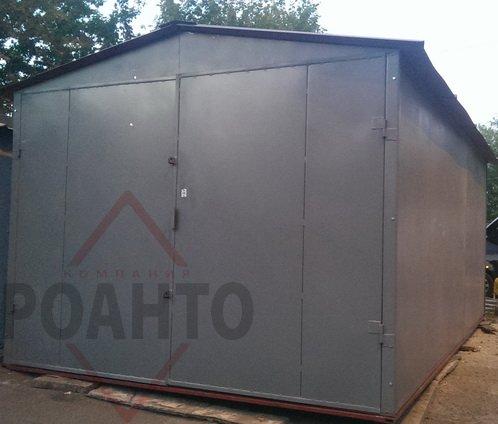 Фото 2 гаражі з профілю і листового металу 329398