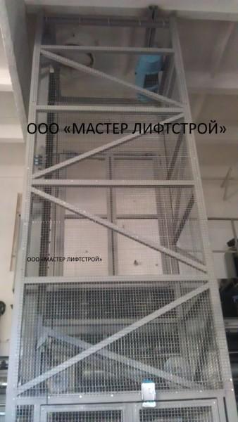 Нестандартные конструкции шахтных подъёмников под заказ. Изготовление и монтаж по всей Украине!