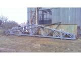 Продам новые фермы перекрытия металлические по осям 12 метров.