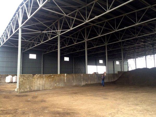 Фото  1 Будівництво зерносховища,складу для соняшника. 1401102