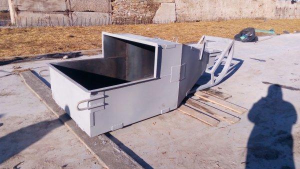 Фото  1 Бункер бадья для бетона поворотный 1808817