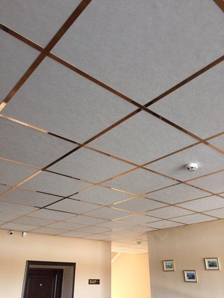 Фото 2 Акустичні, вологостійкі підвісні стелі Армстронг. 329278