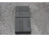 Фото  1 Вибропрессованная тротуарная плитка Кирпич Размер элементов, мм: 200х100х40 Кол. в поддоне: 12,48 м2 1953159