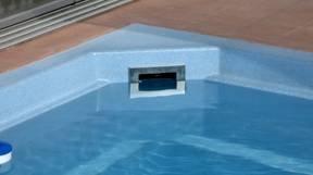 Фланец накладка из нержавеющей стали на скимер бассейна