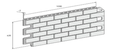Сайдинг Solid Brick 1,00 DENEMARK