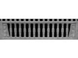 Еврозабор Плита №6 Арка с открытыми балясинами ШхВ 2000х500