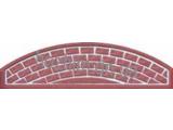 Еврозабор Плита №16 Глухая арка ШхВ 2000х500