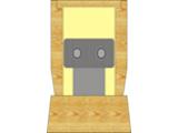 Напольный деревянный конвектор