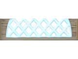Еврозабор Плита №23 Песчаник арка крестовина ШхВ 2000х500