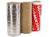 Фото  1 Изоляция Роквул Conlit MAT (ProRox WM 950 ALU)– высокотемпературные прошивные маты из базальтовой ваты, 100мм 2022274