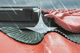 Воротник EZV-P Fakro (для профильного кровельного материала с высотой профиля до 45 мм. 55*78).