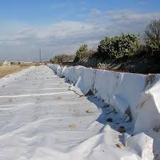 Геотекстиль для защиты и армирование поверхности.