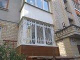 Фото 1 Решетки на окна, балконы, двери с элементами ковки и без 344700