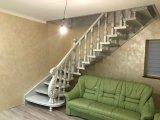 Фото 1 Изысканная деревяная лестница в класическом стиле. Дуб 338571