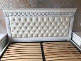 Фото 5 Эксклюзивная Кровать с мягким изголовьем. Нат. кожа. Дуб. 338511