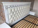 Фото  5 Эксклюзивная Кровать с мягким изголовьем. Нат. кожа. Дуб. 2084947
