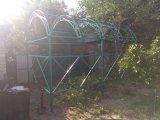 Фото 4 Навес для лавки, беседка под плетущиеся растения 344706