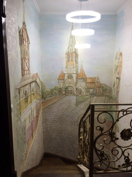 Фото 5 декор стін, художній розпис стін. БАРЕЛЬЄФ, обємні картини 334833
