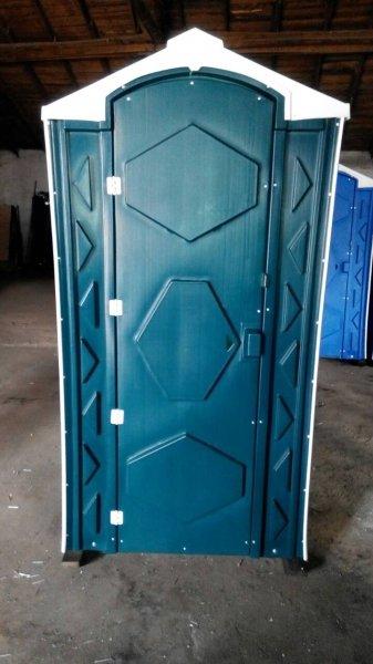 Фото  1 Кабинка туалетная с накопительным баком новая от производителя на улицу 967520