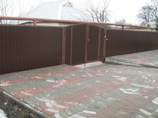Фото 1 Ворота с профлиста,калитка с профлиста 331656