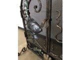 Фото  4 Экран для камина, Каминная решетка, каминные дверцы Морская арт.kpr.4 4494774