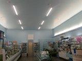 Фото  4 Линейный накладной светильник GTV ASPEN LED 50Вт 4500Лм 4000К 450см IP40 белый 4924004