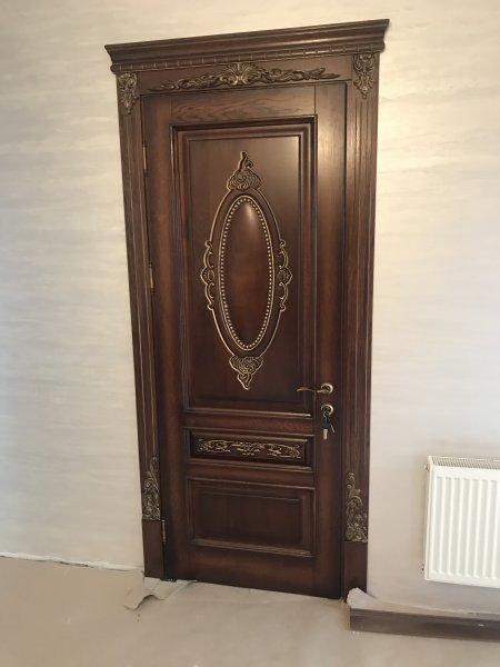 Фото 3 Класичні Двері з масиву Дуба 339648