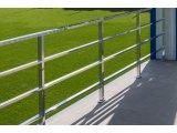 Фото  3 Перила, поручень, ограждение, балкон Н/Ж сталь. Зеркальная полировка. 43830