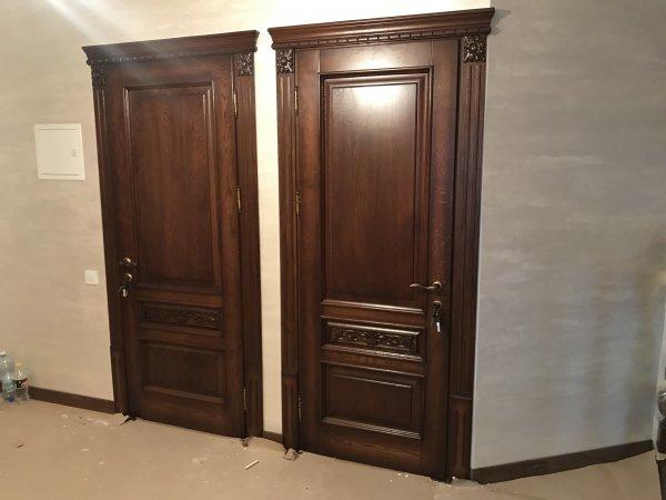 Фото  1 Классические Двери из массива Дуба 2145256
