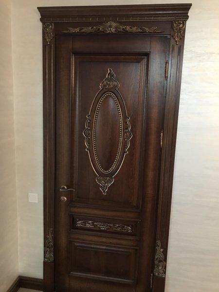 Фото 1 Класичні Двері з масиву Дуба 339648
