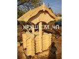 Фото 1 деревяний колодязь з оциліндрованих бруса 338399
