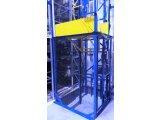 Фото  1 КОНСОЛЬНЫЙ Подъёмник Электрический. ШАХТА - металлическая самонесущая, г/п 1500 кг, 1,5 тонны. г. Сумы 2151593