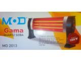Инфракрасный обогреватель 3 лампы Gama MD 2013