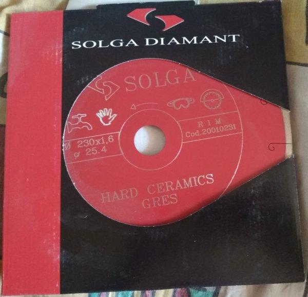 Фото 1 Алмазные круги диски от лучших Solga Diamant 230, 250 по керамогранита, греса 336389