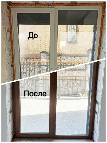Фото 1 Фарбування вікон і дверей з ПВХ та алюмінію, радіаторів 341359