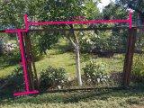 Фото 1 Заборная секция с сеткой рабица 342347