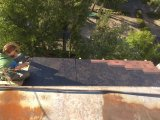 Фото  7 Замена ондулина на битумную черепицу на крыше балкона. Киев. 7983796