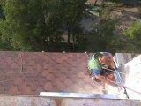 Фото  8 Замена ондулина на битумную черепицу на крыше балкона. Киев. 8983896