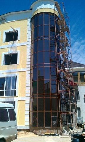 Фото 1 алюминиевые профили фасадного остекления Alumkraft 330993