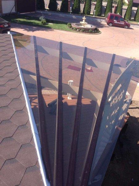 Фото 5 Монтаж поликарбоната на готовые конструкции 322589