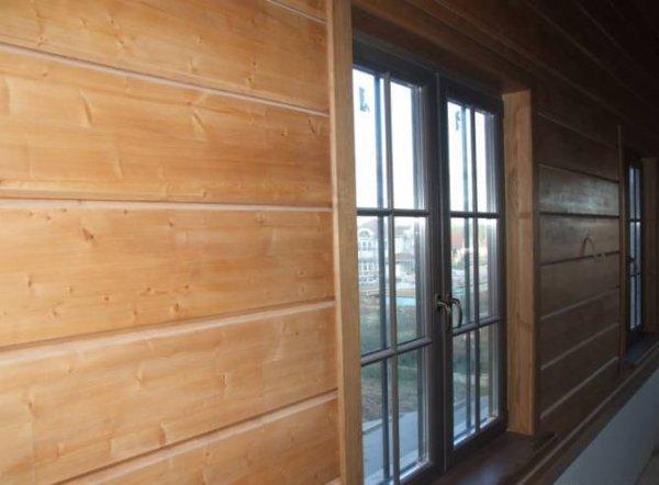 Фото 4 Блок-Хаус (Колода) - відмінний металлосайдінг для Вашого фасаду 327813