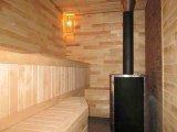 Фото  7 Ольха. Липа. Сосна. Деревянный кирпич-вагонка. После монтажа = имитация кирпичной кладки. Фото на сайте. 7253350