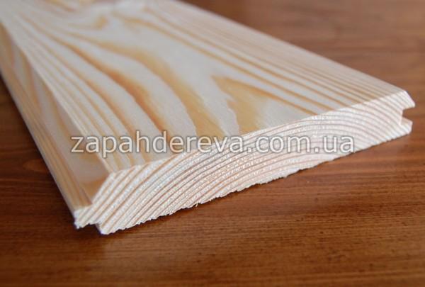 Имитация бруса(фальш брус)сосна 1 сорт