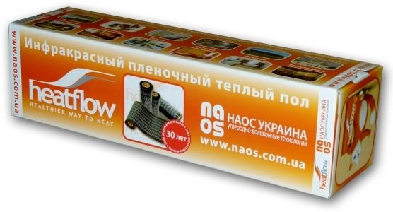 Инфракрасная нагревательная пленка сплошная теплый пол HeatFlow Premium HFS0510 4 м/пог