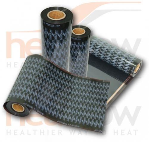 Инфракрасный теплый пол Heatflow нового поколения из углеродно-волоконног о полотна