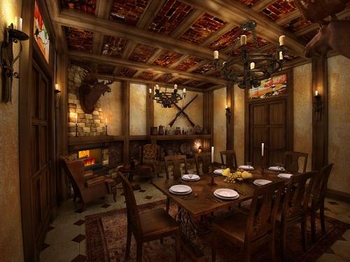 интерьер ресторана из дерева. от проекта до реализации в Жизнь!