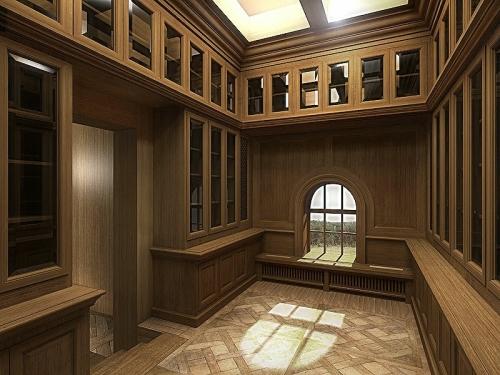Интерьеры из дерева! Производим по индивидуальным проектам. Под ключ, с мебелью!