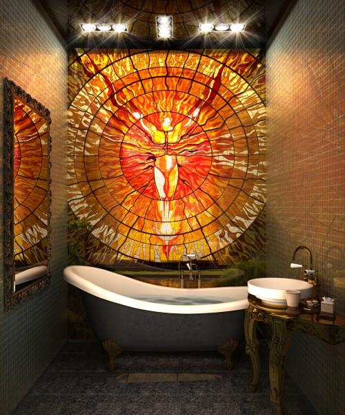 Интерьерная печать в Черкассах- на керамической плитке, мебельных фасадах, зеркале и т. д.