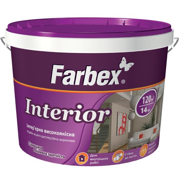 Краска интерьерная Interior TM Farbex