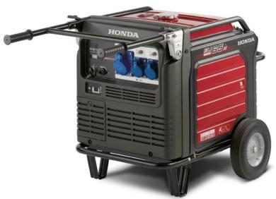 Инверторный генератор Honda EU65iS Акция 20л бензина в подарок заправка масла.